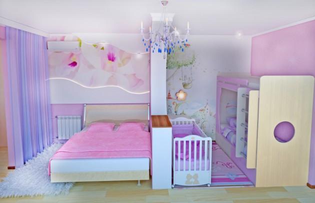 Детская и спальня