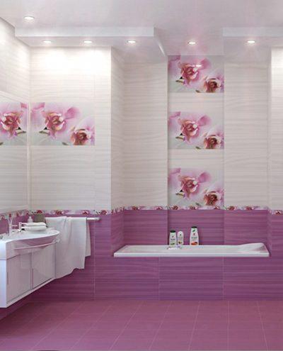 Керамическая плитка – лучшее решение для ванной комнаты