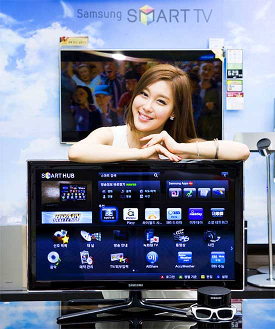 "Samsung представляет D6350 — 32"" 3D Smart телевизор"