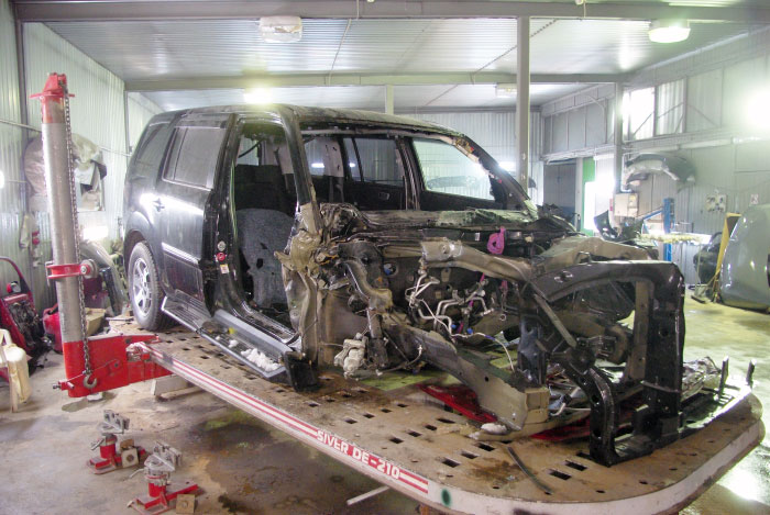 Сложный кузовной ремонт иномарок