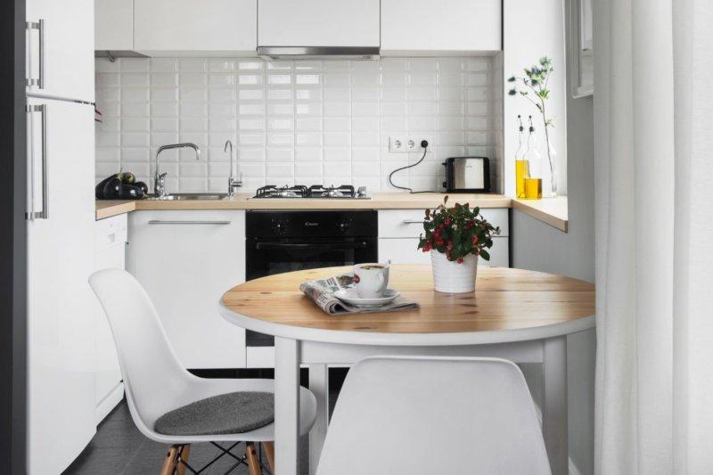 Выгодные решения для обустройства маленькой кухни