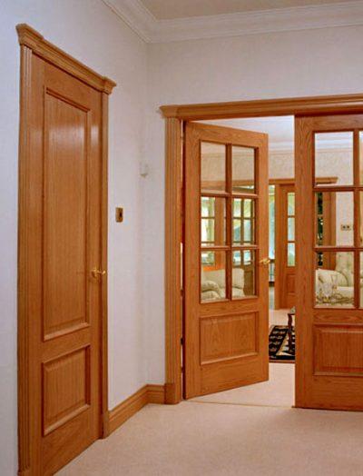 Замена межкомнатной двери из ПВХ