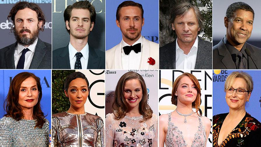 Актеры-номинанты на «Оскар»