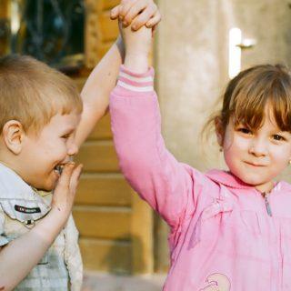Что сделать, чтобы дети небыли робкими?