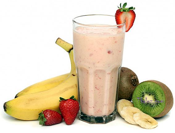 Делаем полезные напитки из бананов