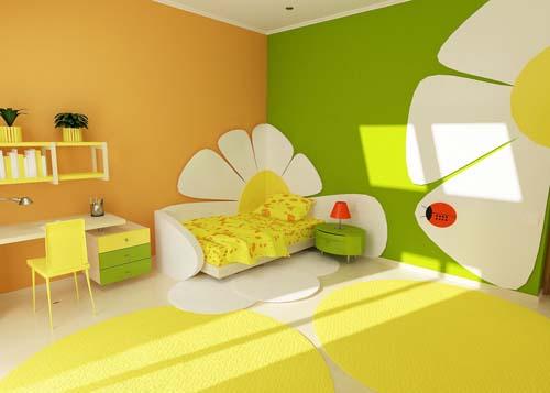 Фэн-шуй. Как создать в комнате обстановку благоприятную для ребенка?