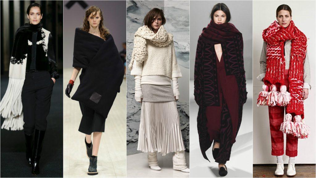 Модные и стильные шарфы этого сезона
