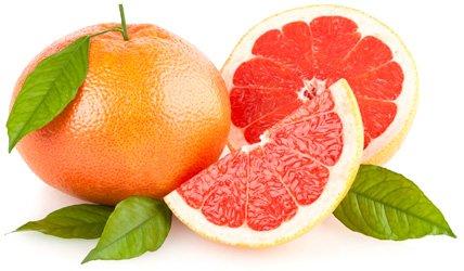 Грейпфрут - полезный и низкокалорийный фрукт