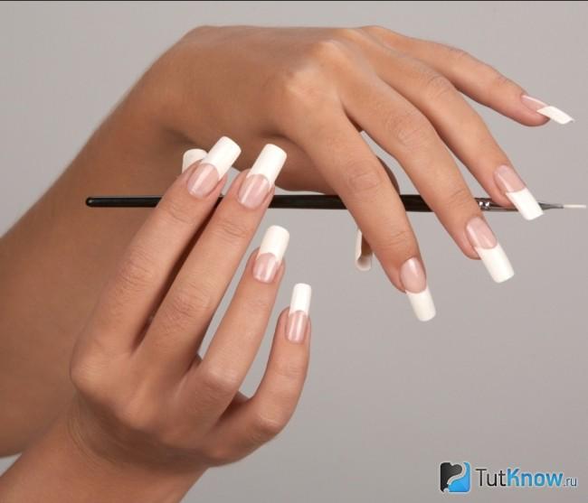 Использование биогеля для ногтей