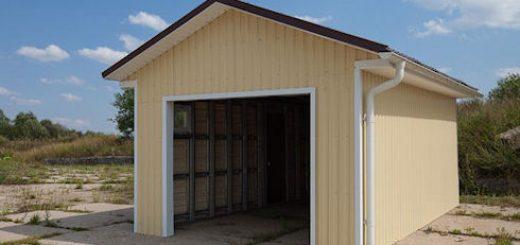 Из чего можно построить гараж