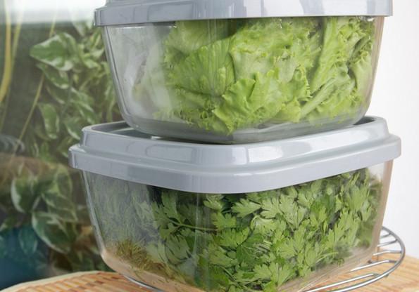 Как правильно хранить зелень, чтобы она всегда была свежей?
