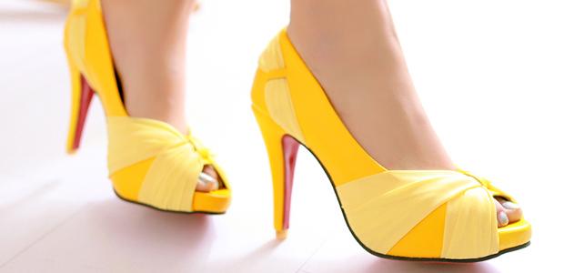 Как правильно выбирать туфли на каблуках