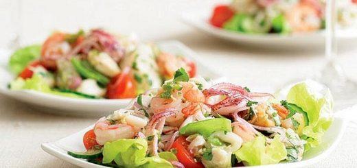 Кальмары с помидорами - аппетитное блюдо с морепродуктами