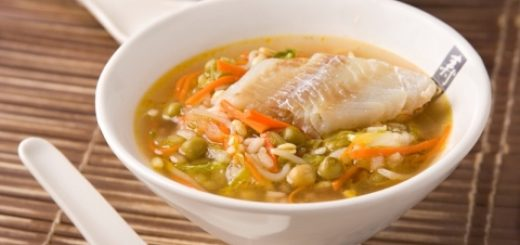 Китайский рыбный суп