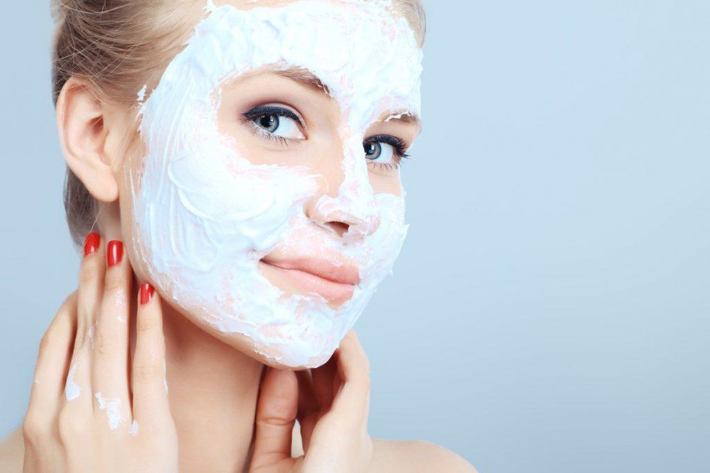 Отбеливающие маски для сухой кожи