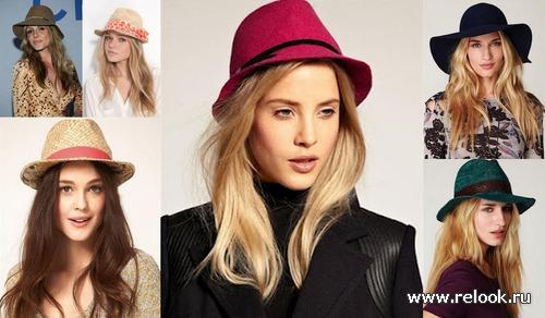 Модные шляпы 2012