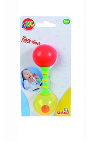 Моя первая игрушка. Погремушка