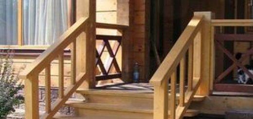 Основные этапы постройки крыльца