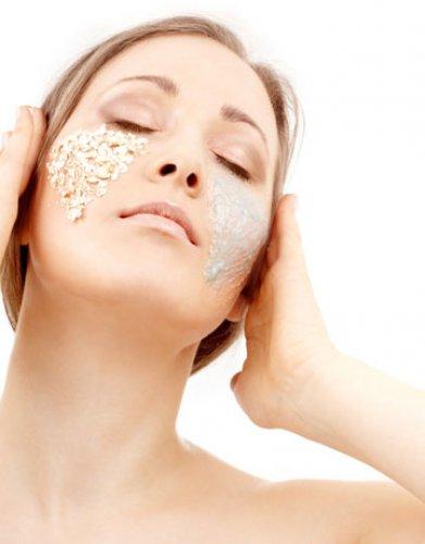Рисовая маска для лица - питает кожу в осенние холода