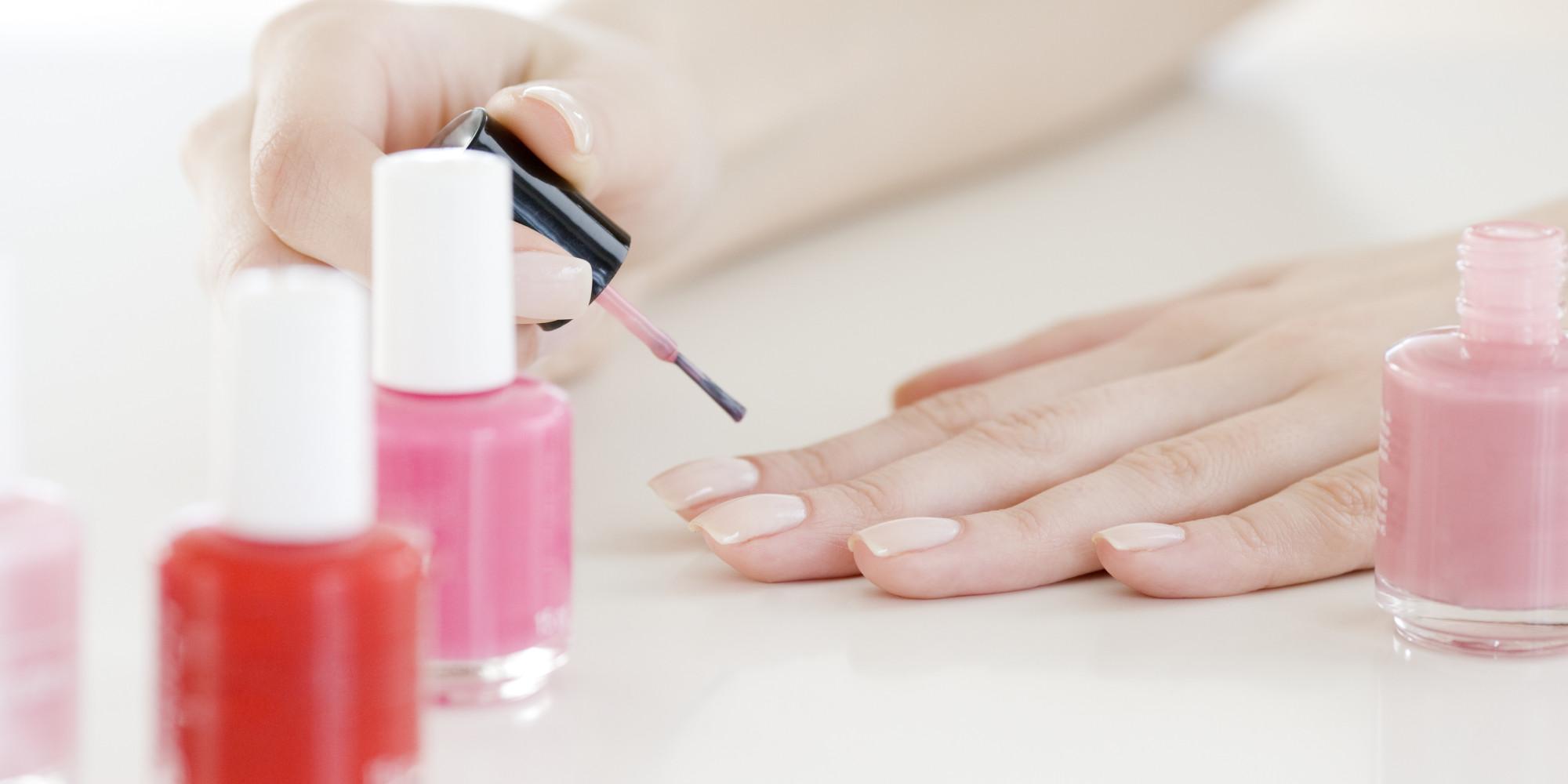 Чем накрасить ногти чтобы долго держалось