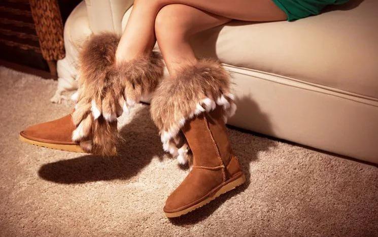 Uggs - тепло, уютно и модно