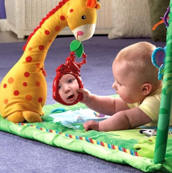 Выбор игрушек для деток от 0 до 1 года