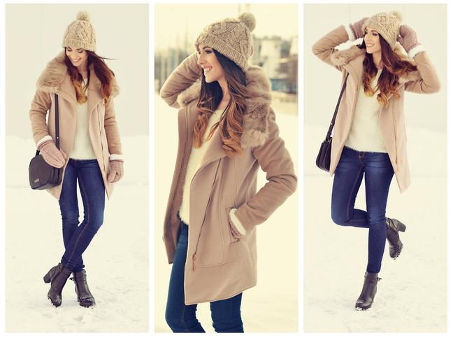 Красивый наряд в лютую зиму