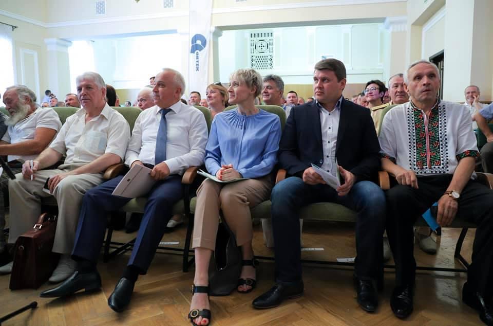 Ярослав Гадзало на 29-й з'їзді Асоціації фермерів розповів про законопроект, щодо передачі земель НААН в оренду