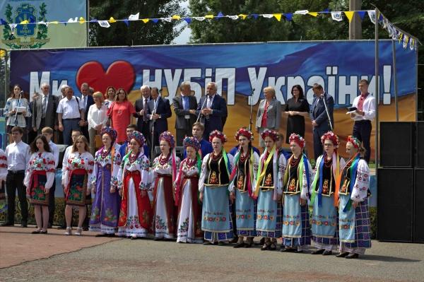 Ярослав Гадзало привітав НУБіП із 121 річницею
