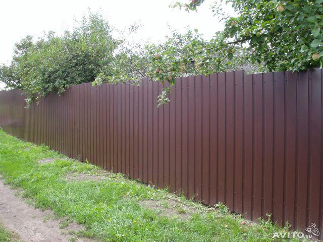 Строим забор с компанией «Будсервис»