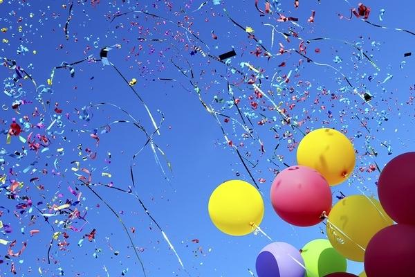Детские воздушные шары - отличное украшение для праздника