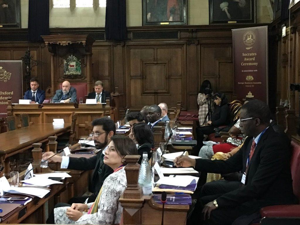 Europe Business Assembly провели в Оксфорде дебаты на тему будущего развития медицины и образования
