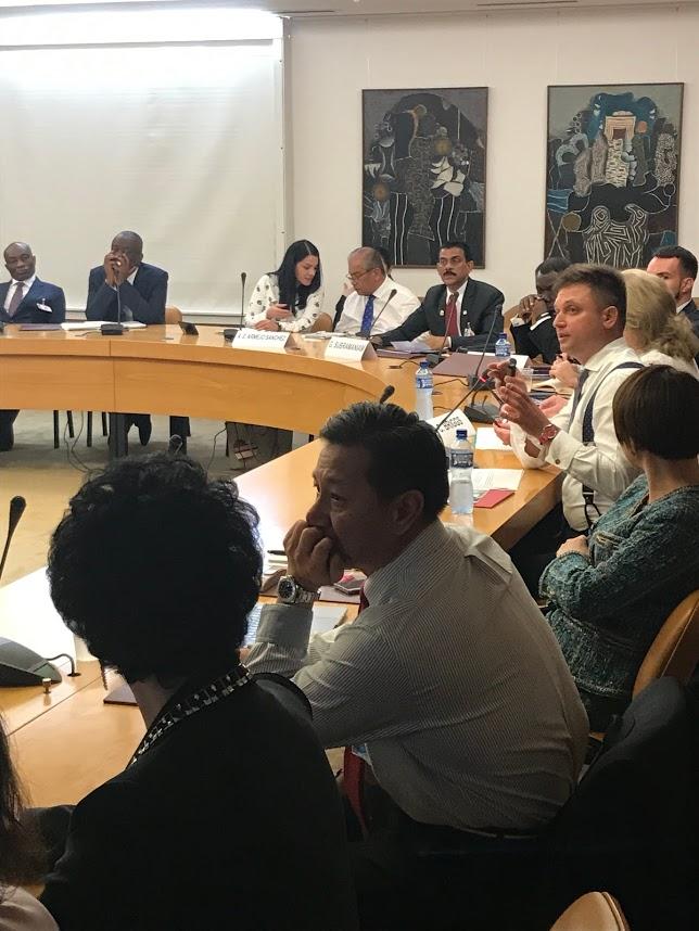 Директор Europe Business Assembly Иван Саввов выступил с докладом в штаб-квартире ООН