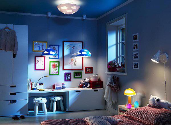 Какую люстру лучше купить в детскую комнату?