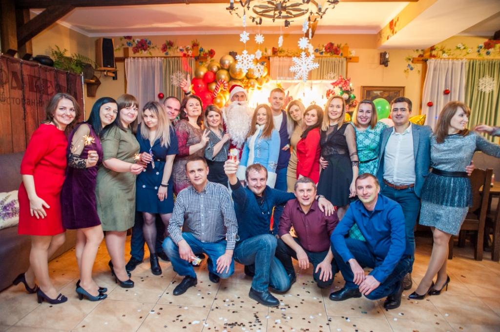 Компанія Фуд Пак Сервіс яскраво відсвяткувала новорічний корпоратив