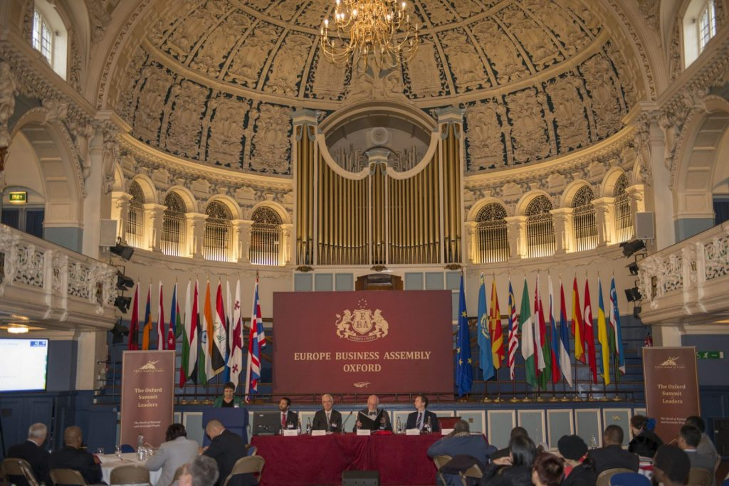 """Европейская Бизнес Ассамблея в """"Global Festival Whirl."""""""