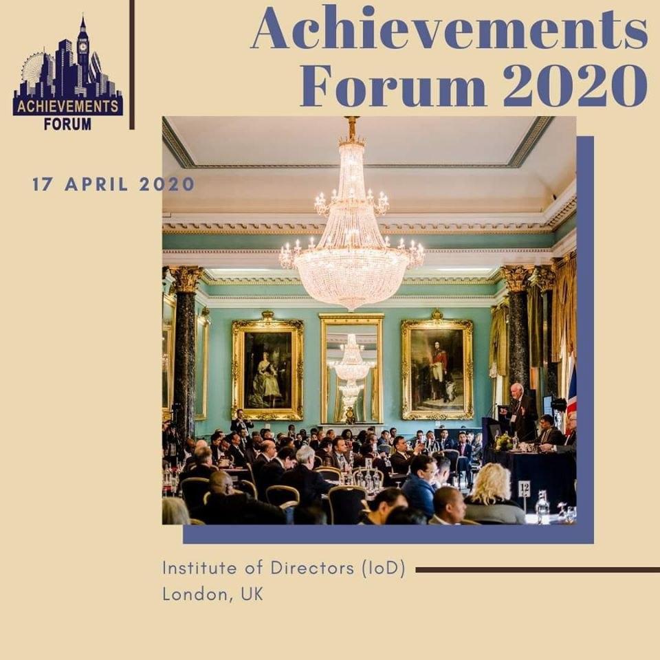 Форум Достижений: что это такое; ТОП 5 главных причин для участия в Форуме Достижений 17 апреля 2020 года