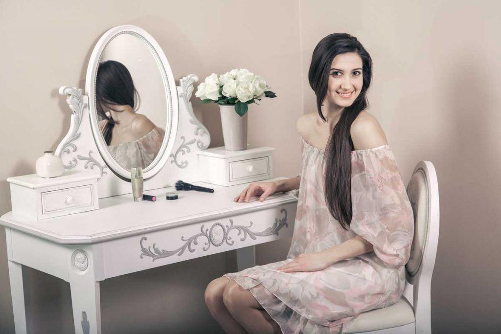 Классический туалетный столик-мечта каждой женщины