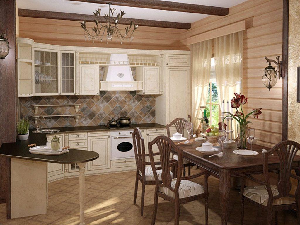 Большой кухонный стол в ваш дом