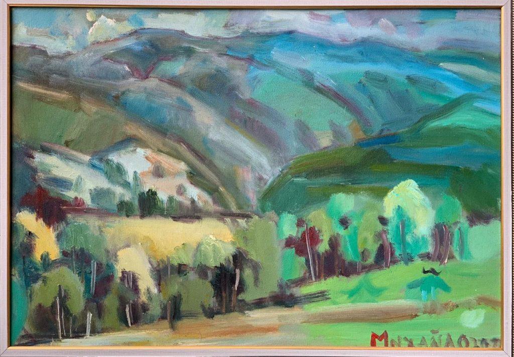 На аукционе Мольберта продали картину за 100 тыс. грн.