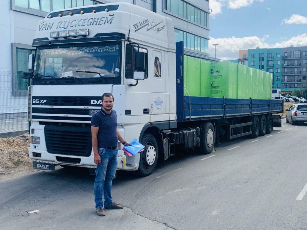 Богдан Хамідулін: вантажівки руйнують дороги через бездіяльність держави