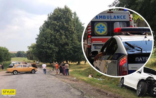 Вагітна на BMW збила двох жінок: деталі ДТП