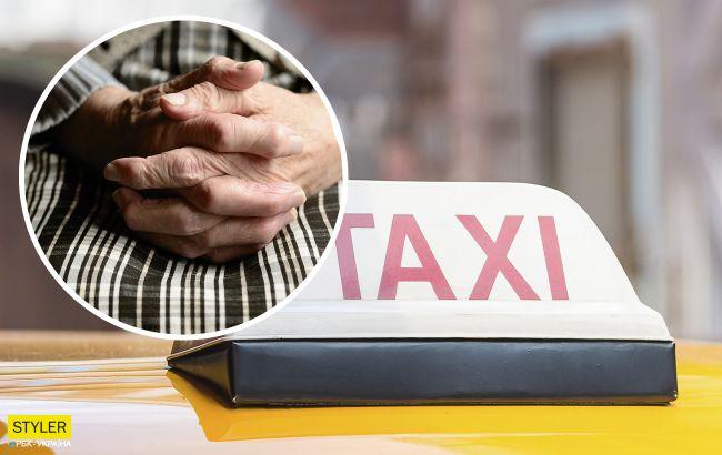 У Києві бабуся дурить людей: просить купити морозива та проїхатись на таксі (відео)